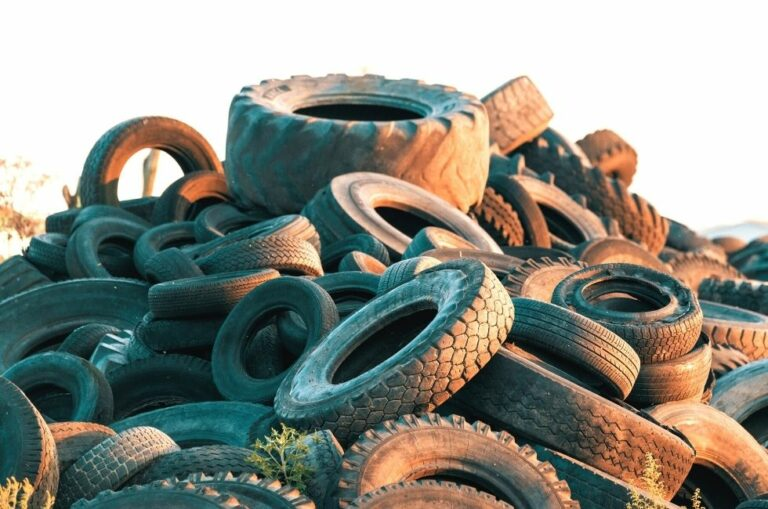 Disposing of Car Tyres That Have Rolled for the Last Time