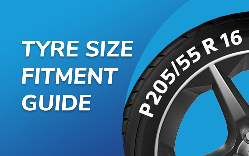 Tyre size fitment guide