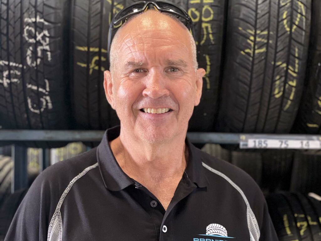 Chris Lett owner of Branigans Burleigh Heads and Branigans Southport tyres shops in the Gold Coast.