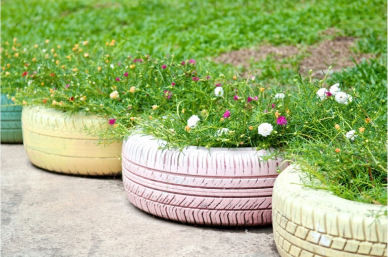 DIY Projects: Fun and Useful Things to Make with Old Tyres